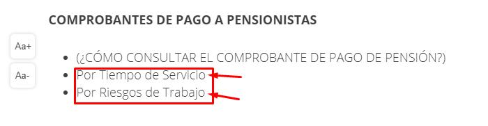 Imagen; Comprobante de pago Issste - Tu comprobante de pensión aquí