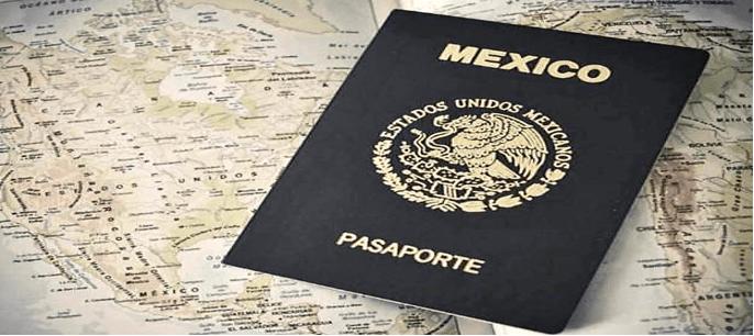 Imagen: Comprobante de pago de derechos de pasaporte