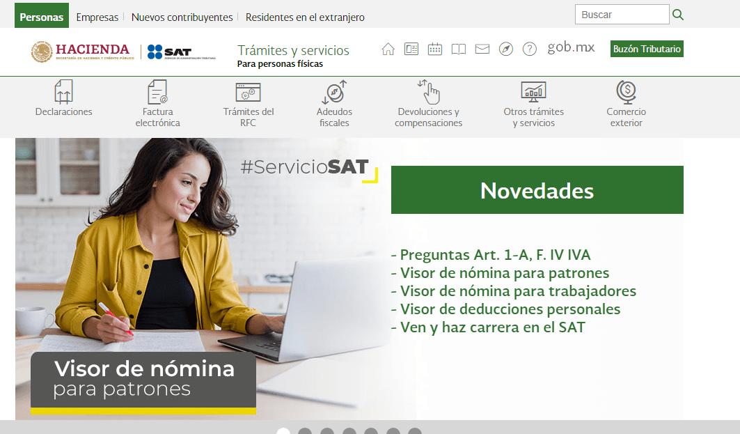 Imagen: Comprobante de pago SAT | Descargar e imprimir aquí