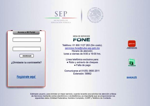 Imagen: Comprobante de pago electrónico SEP - Saca aquí tus talones de pago